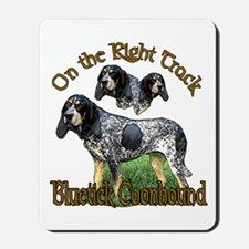 Bluetick Coonhound Gifts Mousepad