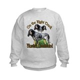 Bluetick coonhound Crew Neck