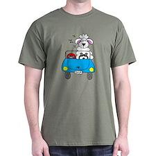 A Sheep at the Wheel T-Shirt