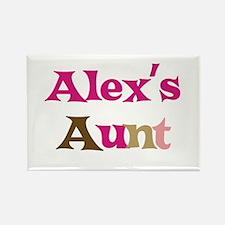 Alex's Aunt Rectangle Magnet