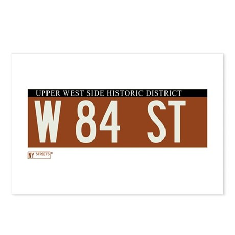 84th Street in NY Postcards (Package of 8)