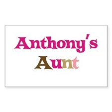 Anthony's Aunt Rectangle Decal