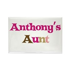 Anthony's Aunt Rectangle Magnet