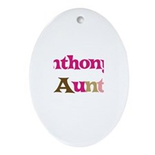 Anthony's Aunt  Oval Ornament