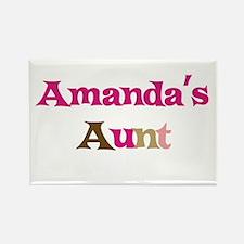 Amanda's Aunt Rectangle Magnet