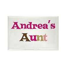 Andrea's Aunt Rectangle Magnet