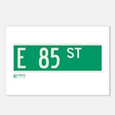 85th Street in NY Postcards (Package of 8)