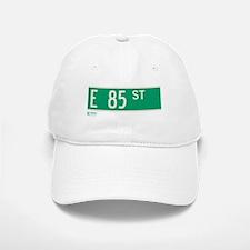 85th Street in NY Baseball Baseball Cap