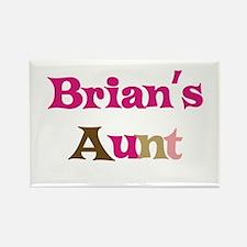 Brian's Aunt Rectangle Magnet