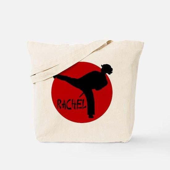 Rachel Karate Tote Bag