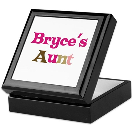 Bryce's Aunt Keepsake Box