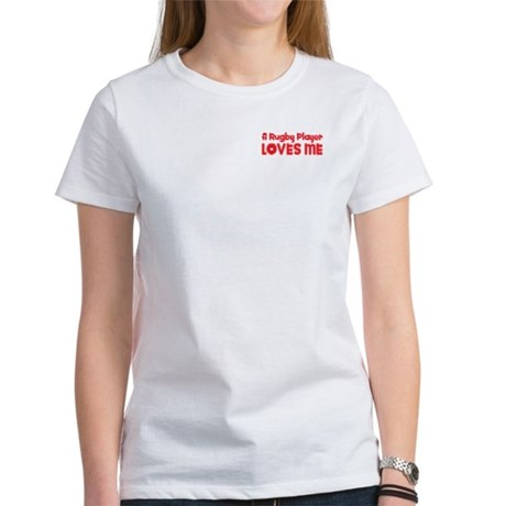 A Rugby Player Loves Me Women's T-Shirt