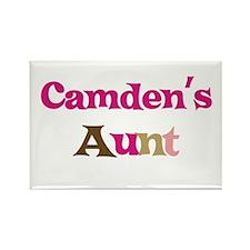 Camden's Aunt Rectangle Magnet