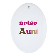 Carter's Aunt  Oval Ornament