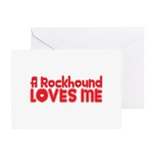 A Rockhound Loves Me Greeting Card
