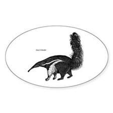 Giant Anteater Oval Decal