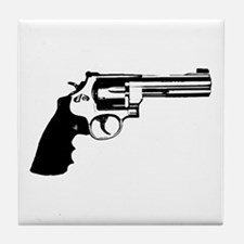 The Revolver Tile Coaster