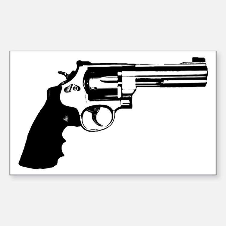 The Revolver Rectangle Decal