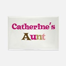 Catherine's Aunt Rectangle Magnet