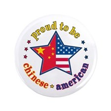 """3.5"""" Button/Chinese American"""