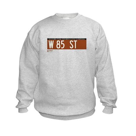 85th Street in NY Kids Sweatshirt