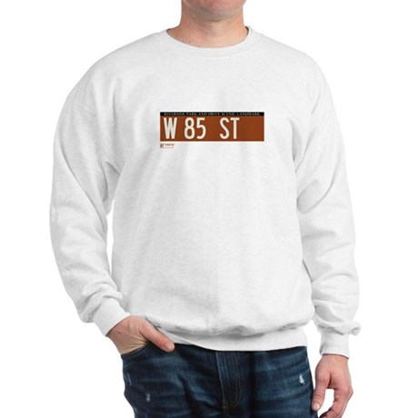85th Street in NY Sweatshirt