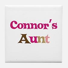 Connor's Aunt  Tile Coaster