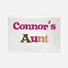Connor's Aunt Rectangle Magnet