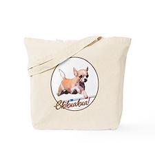 Agility Chihuahua Tote Bag