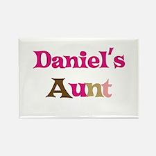 Daniel's Aunt Rectangle Magnet