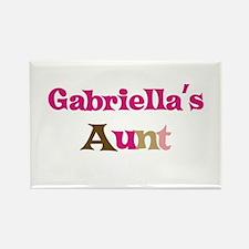Gabriella's Aunt Rectangle Magnet