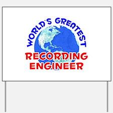 World's Greatest Recor.. (E) Yard Sign