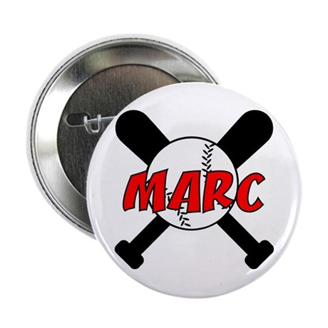 "Marc Baseball 2.25"" Button (100 pack)"