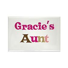 Gracie's Aunt Rectangle Magnet
