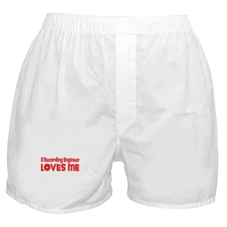 A Recording Engineer Loves Me Boxer Shorts
