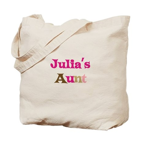 Julia's Aunt Tote Bag