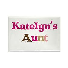 Katelyn's Aunt Rectangle Magnet