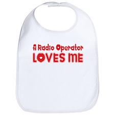 A Radio Operator Loves Me Bib
