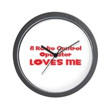 A Radio Control Operator Loves Me Wall Clock