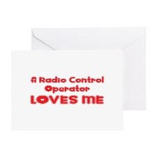 A Radio Control Operator Loves Me Greeting Card