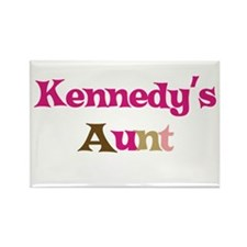 Kennedy's Aunt Rectangle Magnet