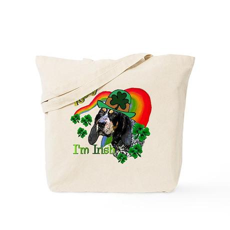 St Pat's Bluetick Coonhound Tote Bag