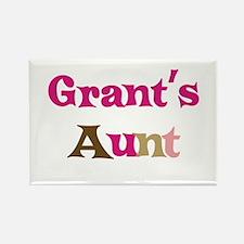 Grant's Aunt Rectangle Magnet