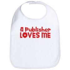 A Publisher Loves Me Bib