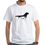 Cave Dog Labrador Retriever White T-Shirt