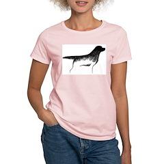 Cave Dog Labrador Retriever Women's Pink T-Shirt