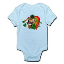 St. Patrick's day APBT Infant Bodysuit