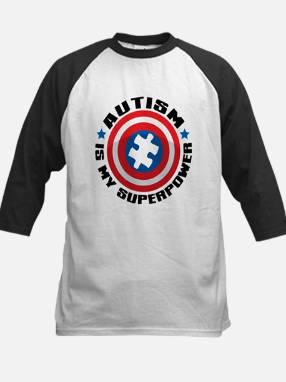 Autism Shield Baseball Jersey