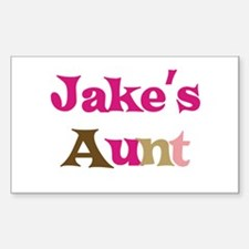 Jake's Aunt Rectangle Decal