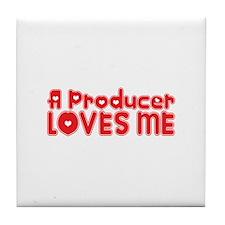 A Producer Loves Me Tile Coaster